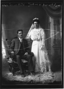 Photograph of Mr. & Mrs. Edmond Hartling