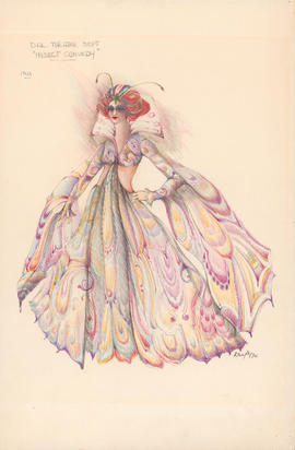 Costume design for Iris