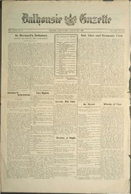 Dalhousie Gazette, Volume 58, Issue 19