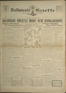 Dalhousie Gazette, Volume 69, Issue 17