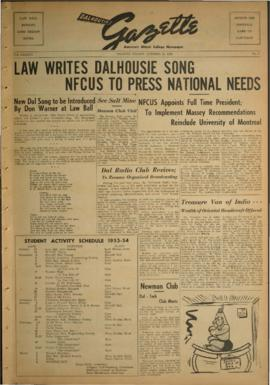 Dalhousie Gazette, Volume 86, Issue 4