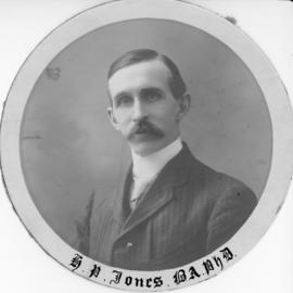 Photograph of H. P. Jones