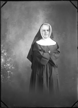 Photograph is a Sister from St. Martha's Convent