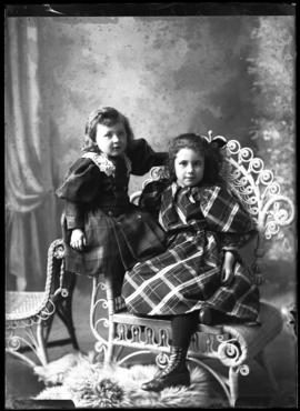 Photograph of the daughters of John McQueen
