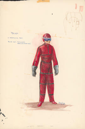 Costume design for the Red Ants