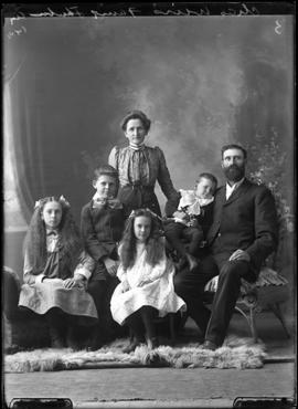 Photograph of the family of Charles Weir