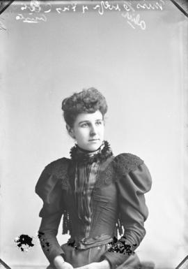 Photograph of Miss Alice Wolfe