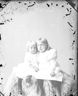 Photograph of  Mrs. Johnston's  two daughters