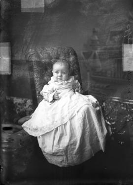 Photograph of Mrs. McArthur's baby