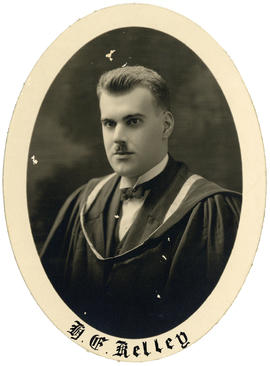 Portrait of Hugh Edgar Kelley : Class of 1926
