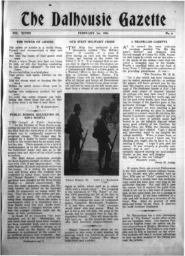 The Dalhousie Gazette, Volume 48, Issue 6