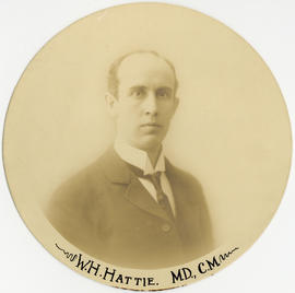 Portrait of William Harop Hattie