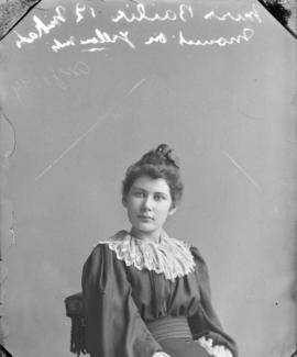 Photograph of Miss Bailie