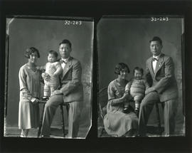 Photograph of Mr. George Wong and his family