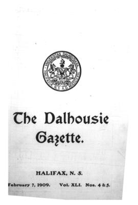 The Dalhousie Gazette, Volume 41, Issue 4-5