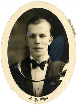 Portrait of Clifford Paul White : Class of 1929