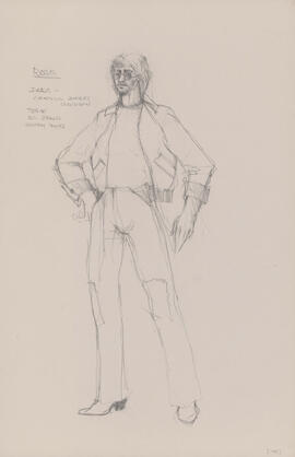 Costume design for Jake
