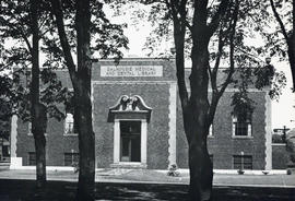 Photograph of the exterior of the Dalhousie Medical and Dental Library