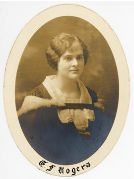Photograph of Evelyn Frances Rogers