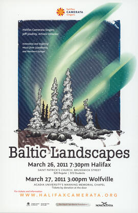 Baltic landscapes : [poster]