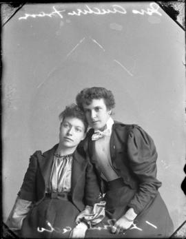 Photograph of Mrs. Andrew Fraser and her friend