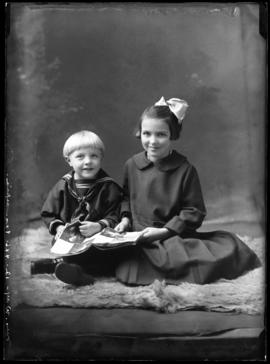 Photograph of the children of Mrs. Way