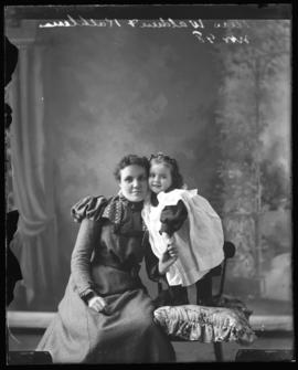 Photograph of Mrs. Waldren & Kathleen