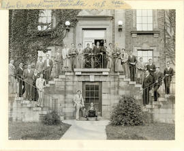 Photograph of Dalhousie University - Faculty of Medicine, Class of 1935
