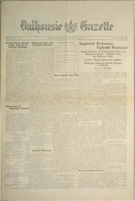 Dalhousie Gazette, Volume 58, Issue 10