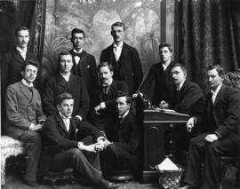 Photograph of Gazette staff