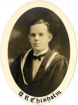 Portrait of Donald Raymond Chisholm : Class of 1927