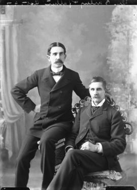 Photograph of Dr. Bailey and father
