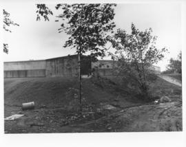Photograph of the Dalplex construction site