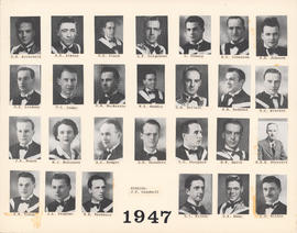 Composite Photograph of the Faculty of Medicine - Class of 1947