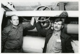 Photograph of Werner Bartsch and Karl M. Knox