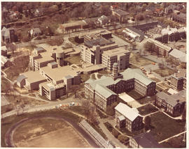 Aerial photograph of Studley Campus