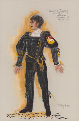 Costume design for Abram