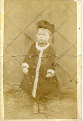 Portrait of T.H. Raddall, Sr. aged about 2 years old