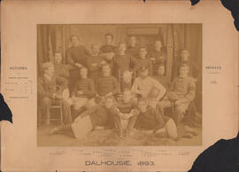 Photograph of Dalhousie Football Team - 1893