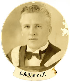 Portrait of L.M. Sproull : Class of 1939
