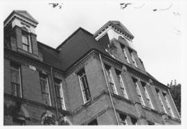 Photograph of the Forrest Building looking toward College Street