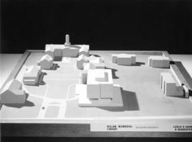 Photograph of Killam Memorial Library model