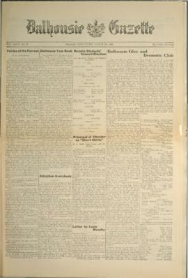 Dalhousie Gazette, Volume 58, Issue 16