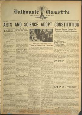 Dalhousie Gazette, Volume 75, Issue 8