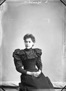 Photograph of Miss Annie Rice