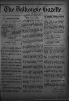 The Dalhousie Gazette, Volume 57, Issue 2