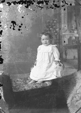 Photograph of W. G. Millar's baby