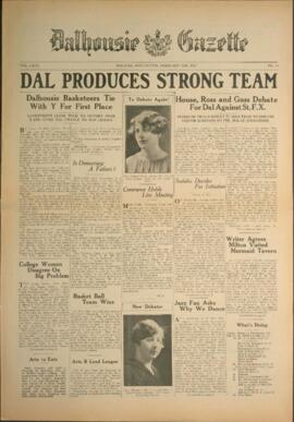 Dalhousie Gazette, Volume 59, Issue 14