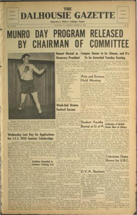 The Dalhousie Gazette, Volume 82, Issue 36