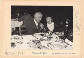 Ellen Ballon and Heitor Villa-Lobos : [photograph]